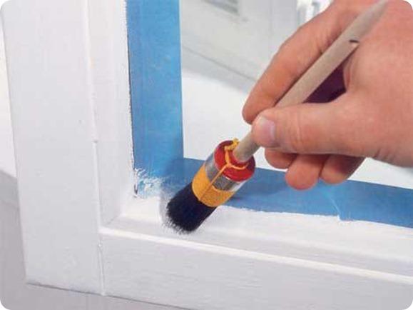 Как правильно покрасить окна.